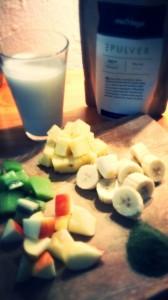 Moringa-grüner-Smoothie-Zutaten2
