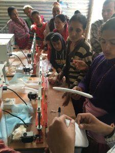 Workshop zur Herstellung von Hygieneartikeln