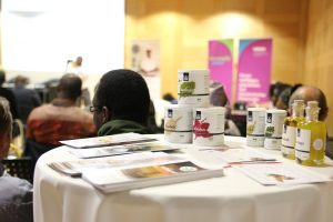 The Essence of Africa products caught a lot of interest during the conference
