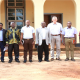 Our Managing Director Dr. Andreas Wesselmann and East Africa Director Dr. Gelase Rugaimukamu together with the District Commissioner and representatives of Kolping Tanzania