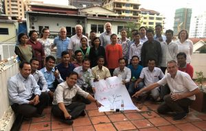 Successful workshop with the project participants in Phnom Penh