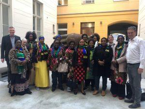 Die tansanischen Businessfrauen zu Gast bei africrops!